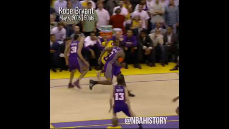 NBA Players scoring 50pts in playoff from 2000 to now ft. AI, Kobe, VC, Westbrook etc