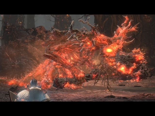 Dark Souls 3: Old Demon King Boss Fight with Anri's Straight Sword (NG)