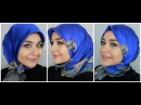 3 Turkish Inspired Hijab Styles Square Silk Scarf from Armine Muslim Queens by Mona