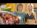 Super Healthy Fast Raw Food Breakfast with Markus Rothkranz, Cara Brotman