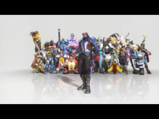 Overwatch Dance coub