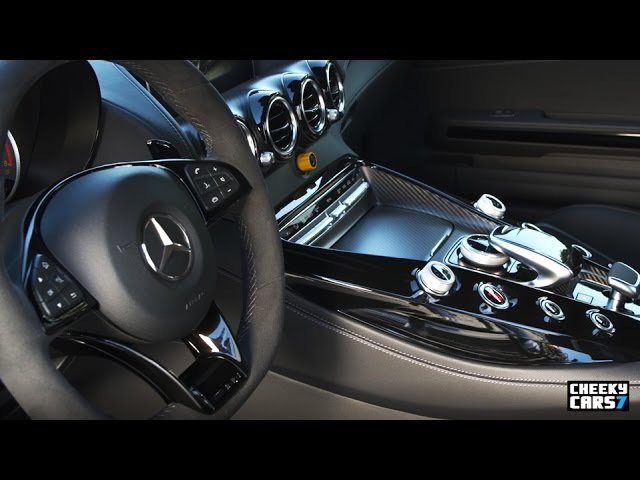 2018 Mercedes-AMG GT R INTERIOR / Test Drive