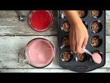 STRAWBERRY CHEESECAKE BITES (RAW VEGAN) hot for food