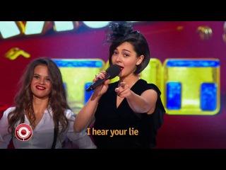 Comedy Club: Марина Кравец (Гости из будущего - Отпетые мошенники)