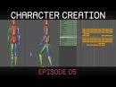 Blender Character Creation E05 Walk animation