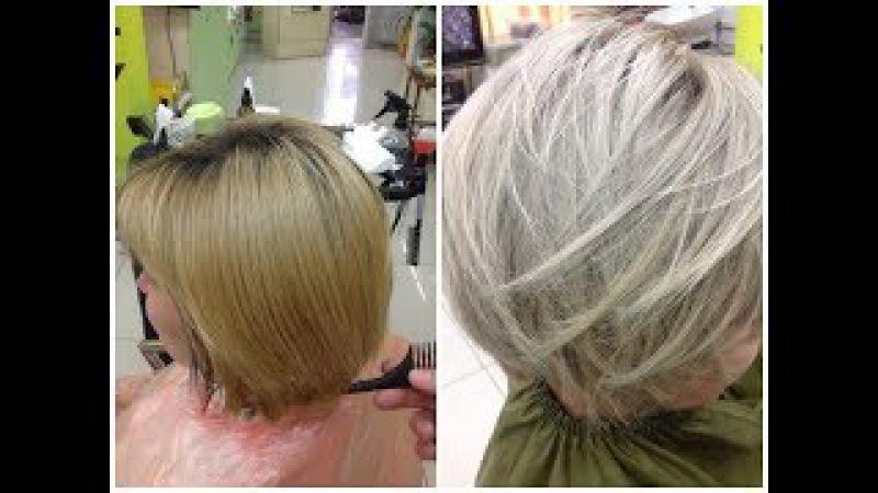 Из рыжего в пепельный блонд From Brassy Ginger Blonde to Ash Blonde: Ash Blonde Hair Tutorial