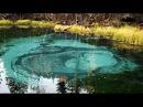 Гейзеровое озеро в Горном Алтае.