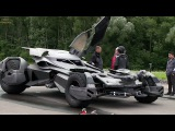 Batmobile 'Batman v Superman' Featurette +Subtitles