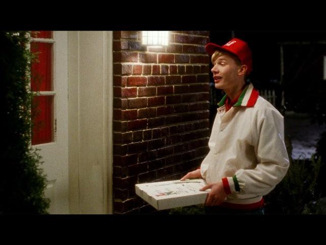 Доставка пиццы — «Один Дома» (1990) Сцена 611 QFHD