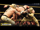 The Lucha Dragons vs. The Vaudevillains  NXT Tag Team Championship Match NXT TakeOver R Evolution