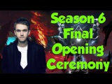 2016 League of Legends World Championship Finals Opening Ceremony Zedd - Ignite