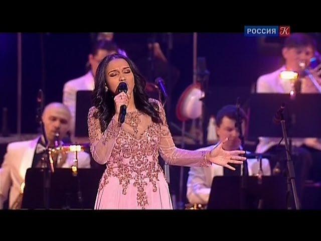 Мари Карне на концерте «Рождение Легенды. К 100-летию со дня рождения Олега Лундстрема» в Кремле