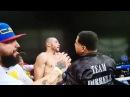 Шокирующий поступок секунданта после боя зазвание временного чемпиона мира побоксу