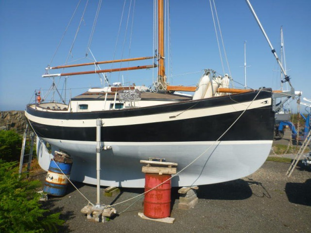 For Sale: Oysterman 22ft Gaff-rigged Cutter GRP - GBP 17,000