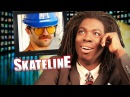 SKATELINE - Marc Johnson Board Sponsor, Man Ramp, Blind Skateboarder Dan Mancina, DMX