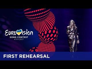 Martina Bárta - My Turn (Czech Republic) First rehearsal in Kyiv