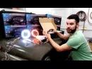 Тяжелая Техника Обзор светодиодных фар на УАЗ 7 дюймов головной свет установк