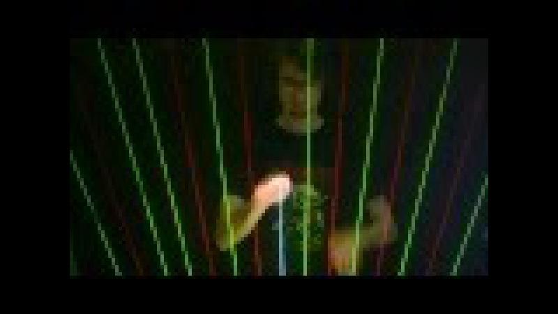Red Dwarf Theme on Laser Harp