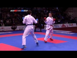 Финал до 61 кг: Хайа Джумаа (Канада) - Ксяоян Ин (Китай)