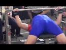 Роман Элькан 14 лет жим лёжа 117.5 кг