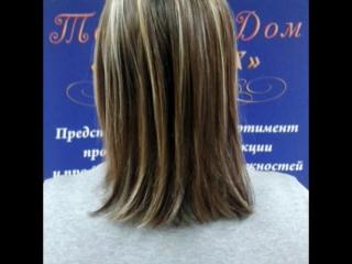 любаша) стрижка и легкая полировка волос