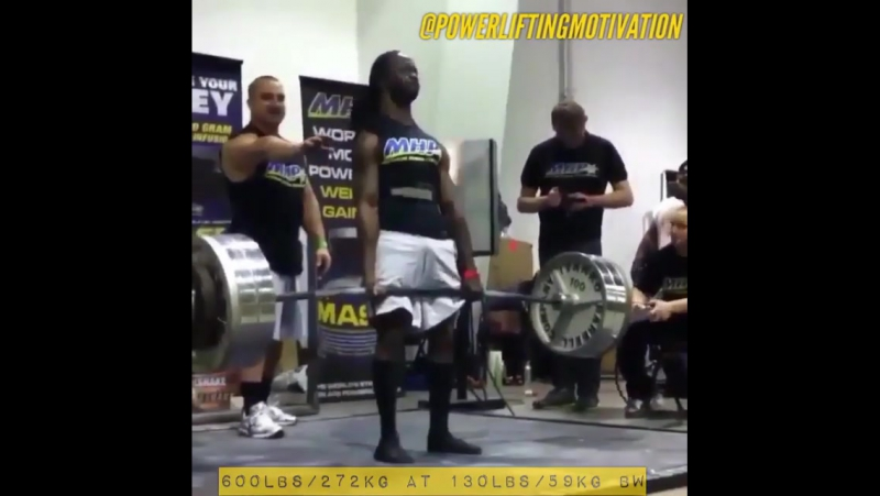 Ричард Хоторн - тяга 272,5 кг
