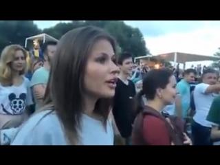 """Юлия Топольницкая (Звезда """"Лабутенов"""") танцует под песню """"Экспонат"""""""