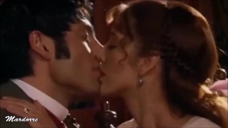 """"""" TU y YO """" Fernando Colunga y Adela Noriega en escenas de AMOR REAL"""
