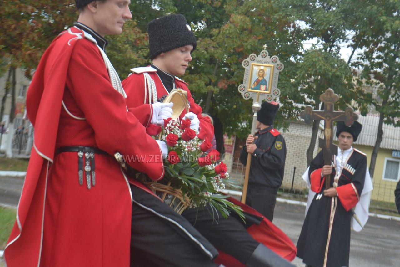 В Зеленчукском районе отметили 320-ю годовщину образования Кубанского казачьего войска