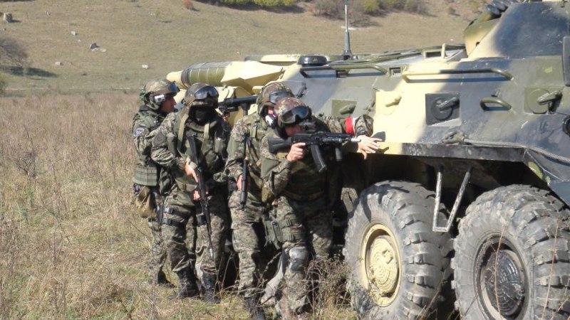 В Зеленчукском районе прошли специальные учения МВД
