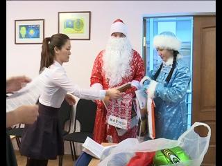 Уральские дети пишут письма Деду Морозу