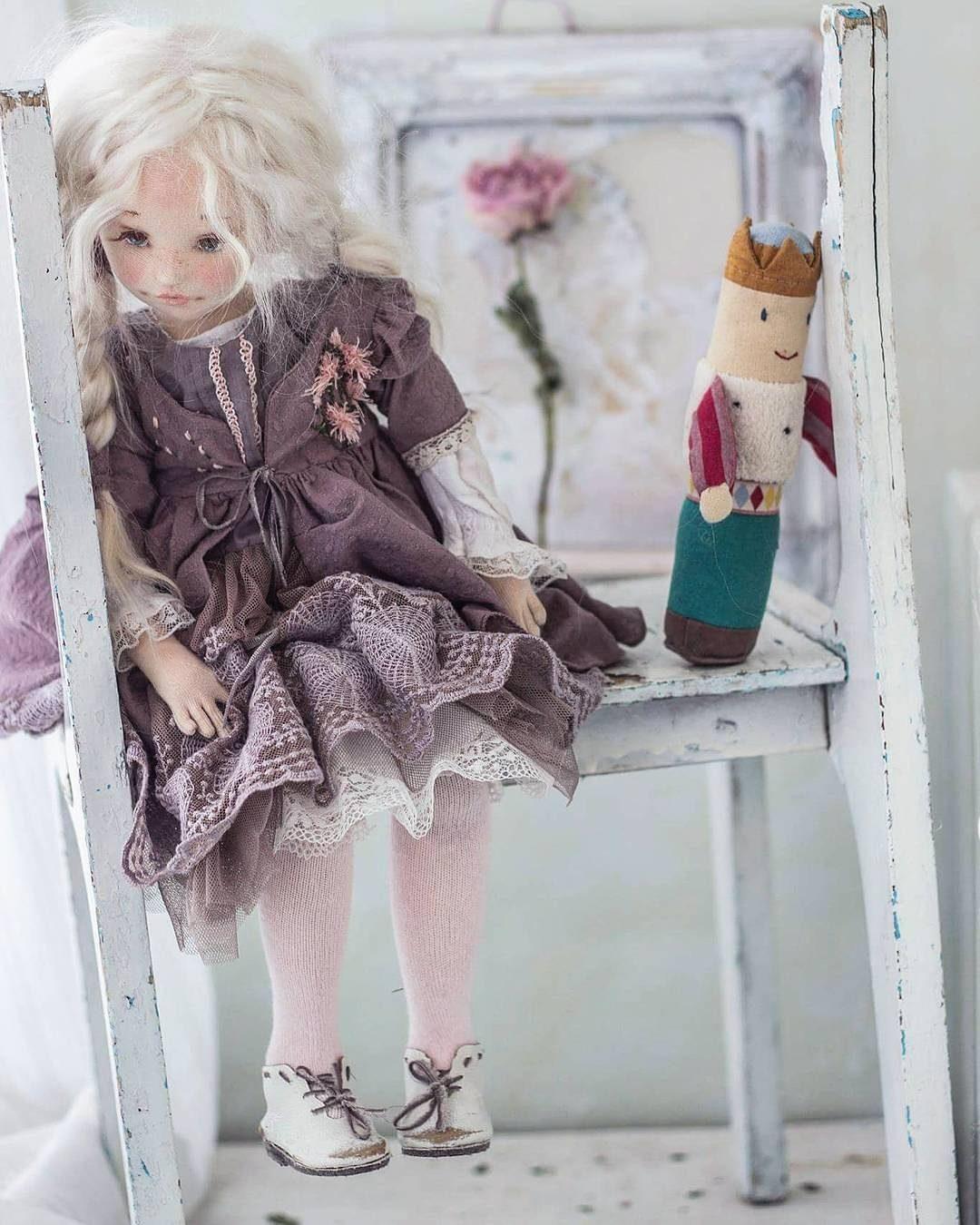 текстильные куклы светланы алпутовой