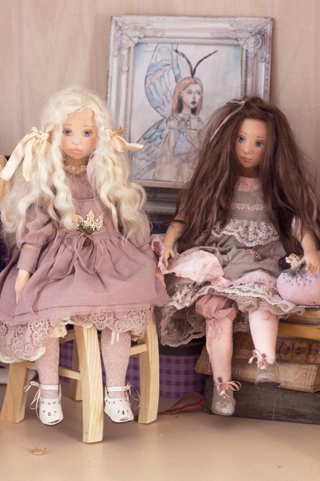авторские куклы Светланы Алпутовой