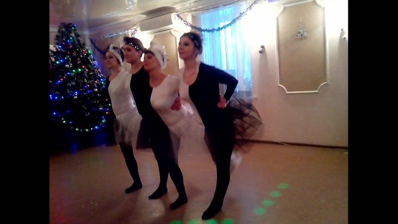 Танец черно белых лебедей