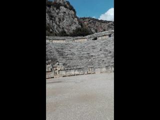 Античный греко-римский театр#GinzaTravel#Турция