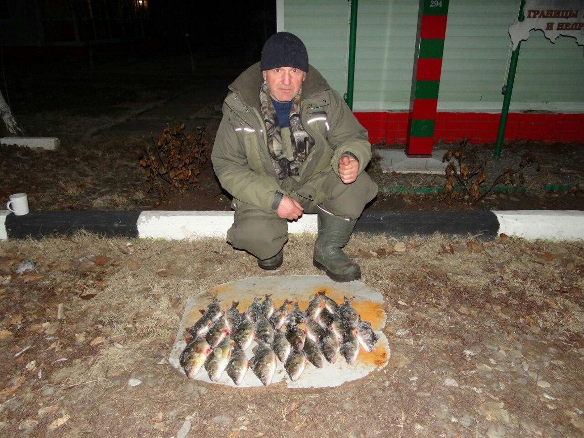 Зимняя рыбалка в Астрахани   База Застава  