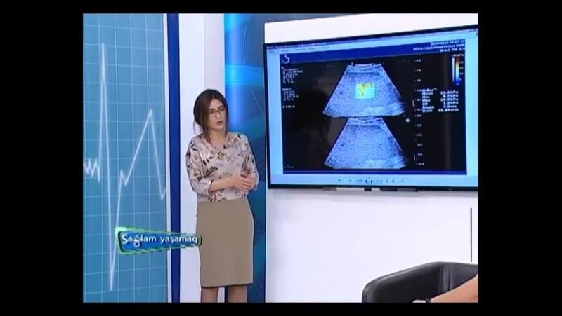 Dr. Könül Mahmudova İTV Sağlam Yaşamaq verilişi