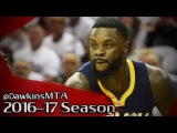 Lance Stephenson Full Highlights 2017 Playoffs R1 Game 1 at Cavs - 16 Pts, 7 Rebs, 3 Assists!