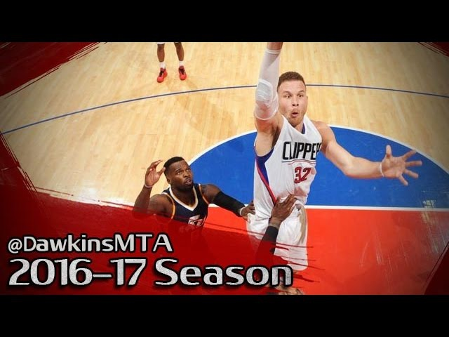 Blake Griffin Full Highlights 2017 Playoffs R1 Game 1 vs Jazz - 26 Pts, 7 Rebs, 3 Assists!