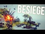 Besiege|Простая независимая подвеска|Easy independent suspension