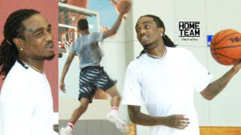 Quavo (Migos) Alley Oop To Shareef O'Neal!