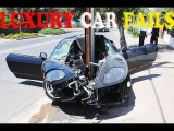 EXPENSIVE LUXURY CAR CRASH COMPILATION , IDIOT LUXURY CAR DRIVERS IDIOT DRIVERS WEEK 4 AUGUST 2016
