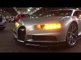 Bugatti Chiron Headlights Show