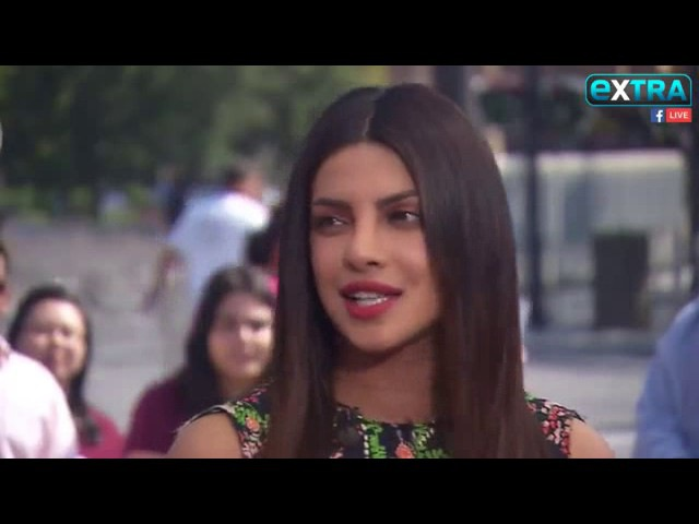 Priyanka Chopra live Extra Studios in Hollywood 24-5-2017