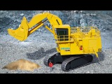 Learn JCB Excavator - Toys Trucks For Kids - Children Video - Diggers Cartoons
