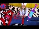 Spiderman. Доктор Ярослава и Человек Паук Делаем укол Игры для детей