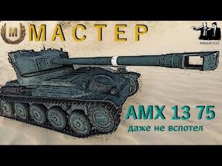 AMX 13 75 - мастер, даже не вспотел!
