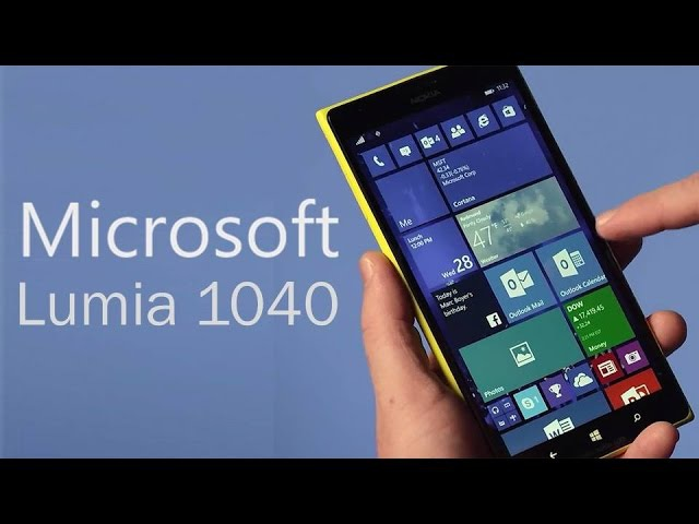 Microsoft Lumia 1040: Rumors Leaks