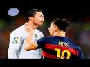 Lionel Messi Vs Cristiano Ronaldo Top 10 Craziest Fights Fouls Red Cards