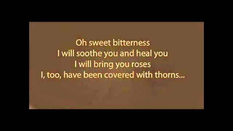 Bittersweet Jalaluddin Rumi Poem reading by Madonna Lyrics